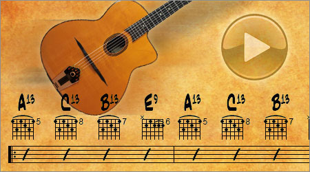 Gipsy Jazz Guitar Backing Tracks
